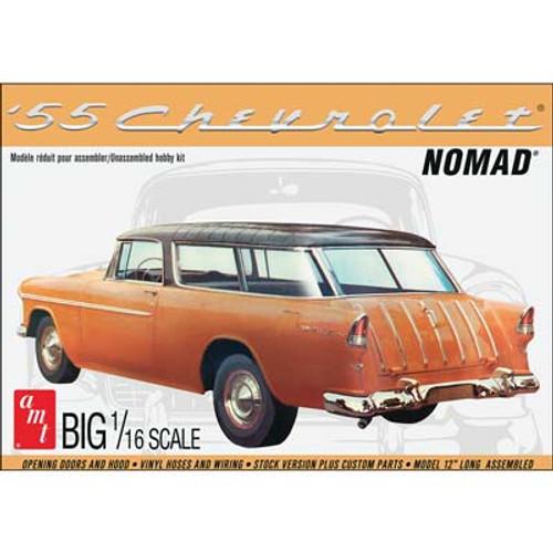 AMT - 1/16 1955 Chevy Nomad Wagon Plastic Model Car Kit (1005) 849398011539