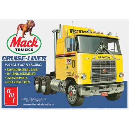 AMT - 1/25 Mack Cruise-Liner Semi Tractor - Plastic Model Kit (1062) 849398017371