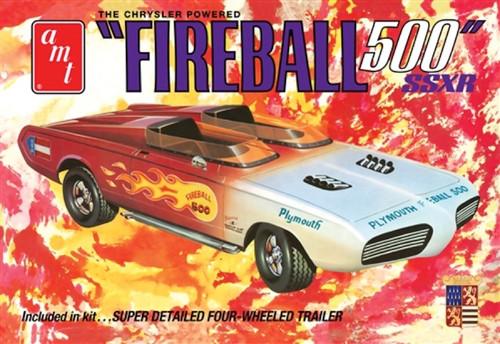 AMT - 1/25 George Barris Fireball 500 (Commemoratv - Plastic Model Kit (1068) 849398017432