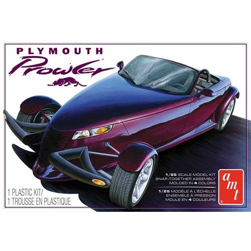 AMT - 1/25 1997 Plymouth Prowler Plastic Model Car Kit Snap Kit (1083) 849398020302
