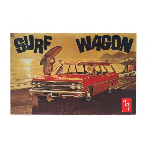 AMT - 1/25 '65 Chevelle Surf Wagon Plastic Model Car Kit - (1131) 849398030370