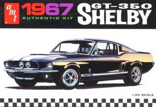 AMT - 1/25 Scale 1967 Shelby GT350 Plastic Model Kit (834) 849398000199