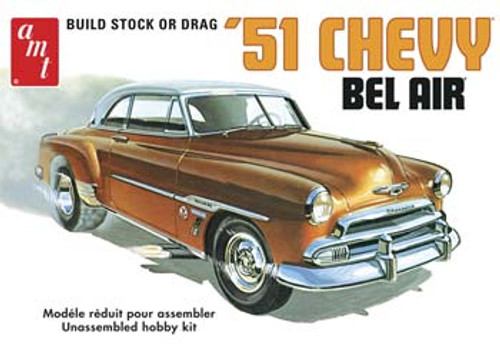 AMT - 1/25 Scale 1951 Chevy Bel Air Plastic Model Kit (862) 849398003541