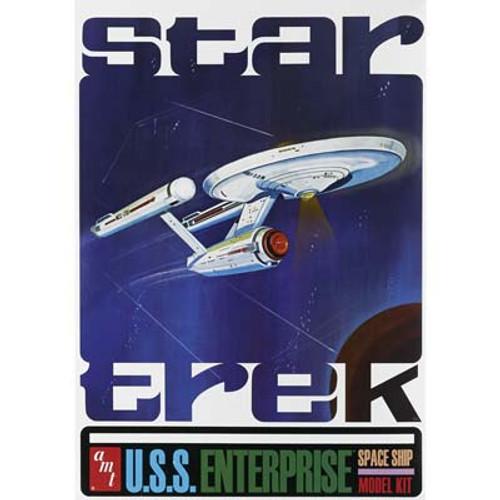 AMT - 1/650 Star Trek TOS Classic USS Enterprise 50th Anniversary Plastic Model Kit 947 849398009680