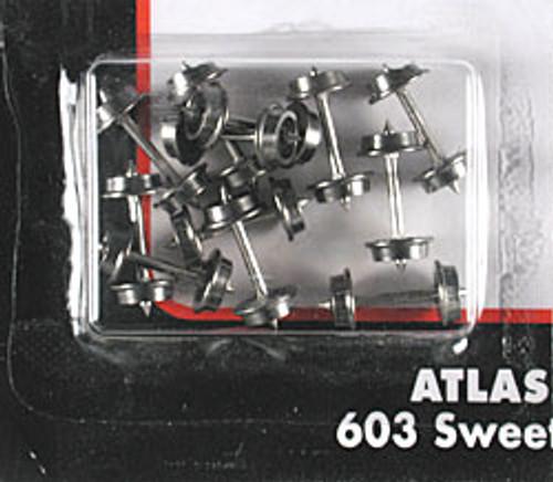 ATLAS - Model Railroad - N Metal Wheels 33 - Train Parts (N Scale) (22020) 732573220201