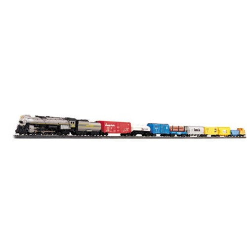 BACHMANN - HO Scale - Electric Train Set Overland Limited Set with EZ Track, UNION PACIFIC (00614) 022899006147