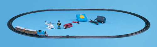 BACHMANN - HO Scale - Electric Train Set - Deluxe Thomas with Annie and Clarabel (00644) 022899006444
