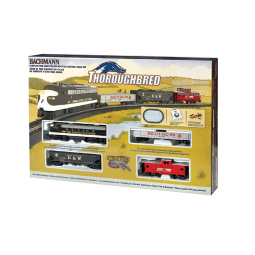 BACHMANN - HO Scale Thoroughbred Electric Train Set (00691) 022899006918
