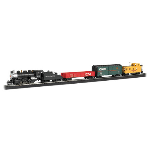BACHMANN - HO Scale Pacific Flyer Electric Train Set (00692) 022899006925