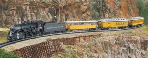 BACHMANN - HO Scale Durango & Silverton Electric Train Set (00710) 022899007106