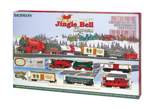 BACHMANN - HO Scale Jingle Bell Express Train Set (00724) 022899007243