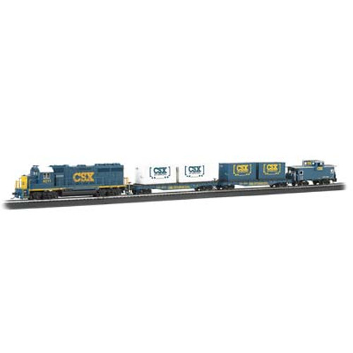 BACHMANN - Coastliner Ready To Run Electric Train Set HO Scale (00734) 022899007342