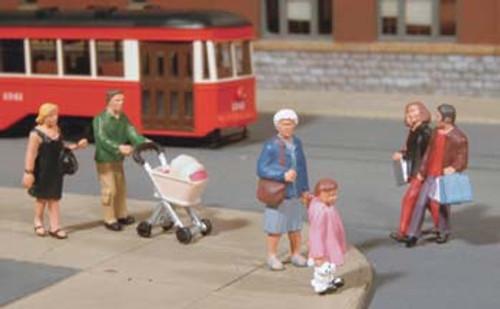 BACHMANN - O Strolling Figures - Train Figures (O Scale) (33159) 022899331591