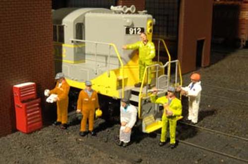 BACHMANN - O Mechanics - Train Figures (O Scale) (33163) 022899331638