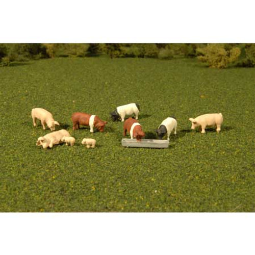 BACHMANN - O Scale Pigs (9) (33168) 022899331683