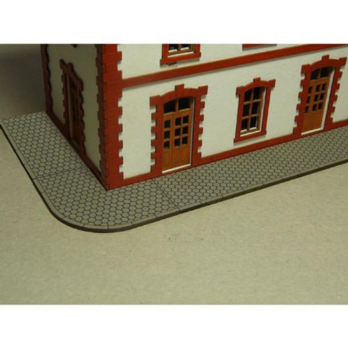 BACHMANN - HO Scale Hexagon Sidewalk (39105) 022899391052