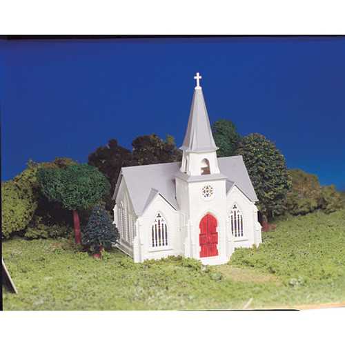 BACHMANN - HO Snap KIT Cathedral Plastic Model Building Kit (45192) 022899451923
