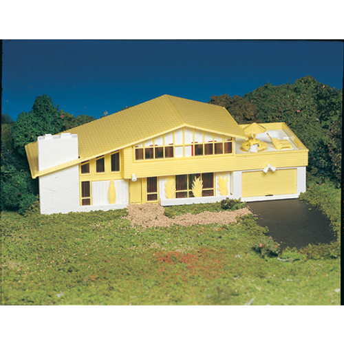 BACHMANN - HO Snap KIT Contemporary House Plastic Model Building Kit (45432) 022899454320