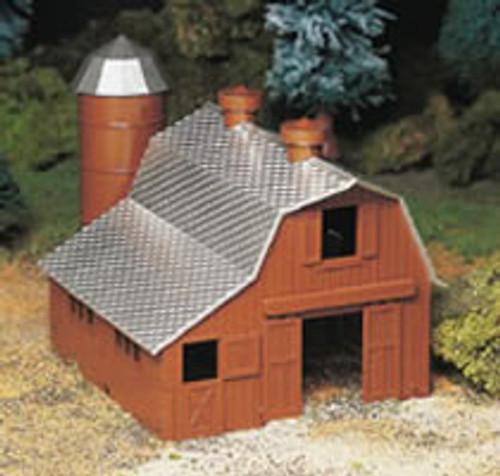 BACHMANN - O Scale Dairy Barn Kit (45602) 022899456027