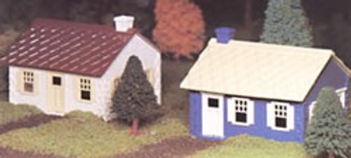 BACHMANN - O Scale Cape Cod House Kit (2) (45608) 022899456089