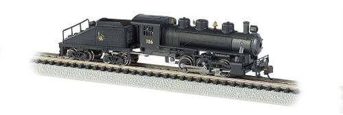 BACHMANN - 50565 N Scale USRA 0-6-0 Steam Loco Train Engine, CNJ 022899505657