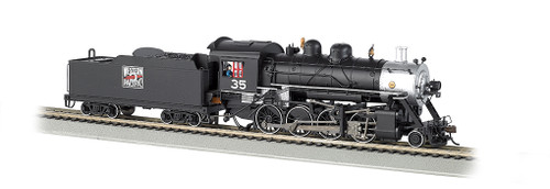 BACHMANN - N Scale 2-8-0 Locomotive with DCC & Sound Value WP (51351) 022899513515
