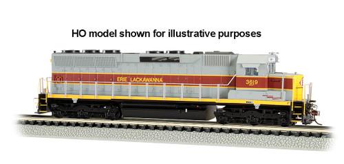 BACHMANN - 66451 N Scale SD45 Diesel Loco Train Engine w/DCC & Sound Value, EL #3619 022899664514