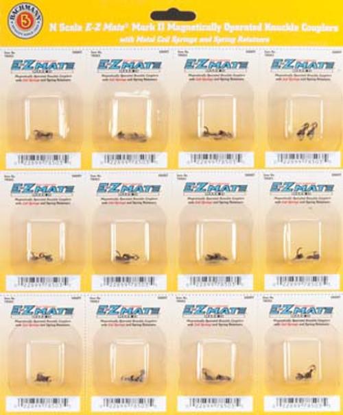 BACHMANN - N EZ Mate Mark II Center Knuckle Coupler Short - Train Parts (N Scale) (78503) 022899785035