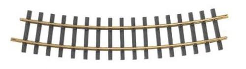 BACHMANN - 94654 G Scale Brass Track 5' Diameter Curve (12) 022899946542