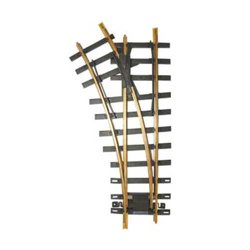 BACHMANN - 94659 G Scale #1100 Turnout Left Brass Switch Track 022899946597