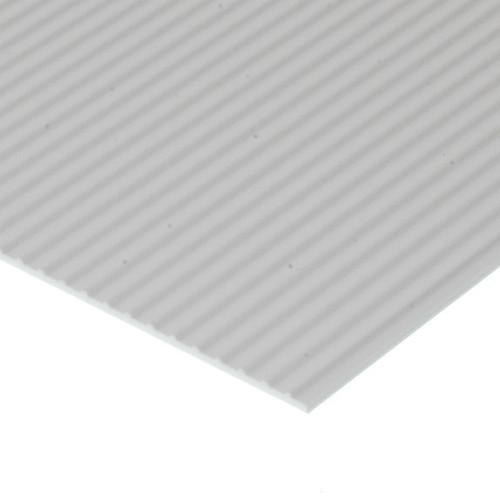 "EVERGREEN - Plastic Styrene 3D Patterned Sheet Stock - Board & Batten .100"" spacing (4543) 787026045436"