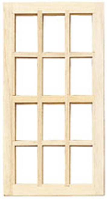 HOUSEWORKS - Half Inch Scale Colonial Window (H5024) 022931250248