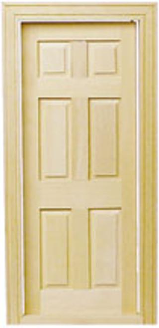 HOUSEWORKS - Half Inch Scale 6-panel Interior Door (H6007) 022931260070