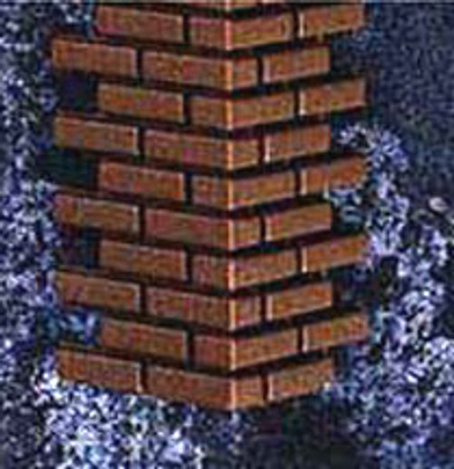 "HOUSEWORKS - Half Scale (1/2"" Scale) Dollhouse Miniature - Brickmaster Corners (HWH8207) 022931282072"