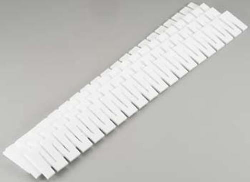 WOODLAND SCENICS - 2.5 Inch Foam Road Riser 4 Pack (C1181) 724771011811