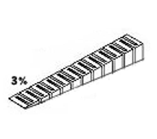 """WOODLAND SCENICS - 3% Incline Starter 2 1/2""""x 24"""" (ST1415) 724771014157"""