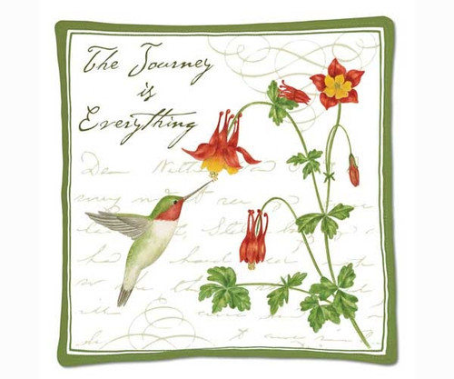 ALICE'S COTTAGE - Hummingbird Spiced Hot Pad (cloth) (AC12438) 803246066201