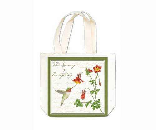 ALICE'S COTTAGE - Hummingbird Gift Tote (cloth) (AC18438) 803246066195