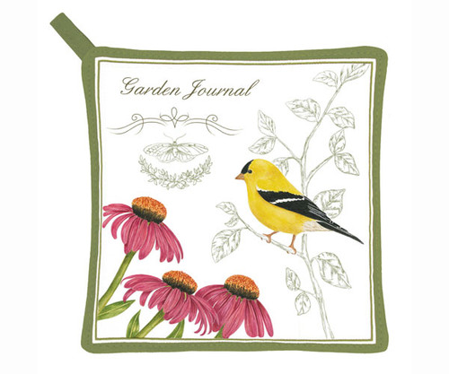 ALICE'S COTTAGE - Goldfinch Pot holder (cloth) (AC21449) 803246068533