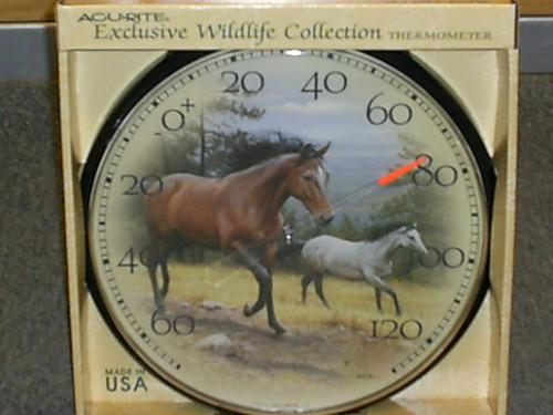 ACCURITE - Horse Indoor - Outdoor Thermometer (ACCURITE1839) 072397018395