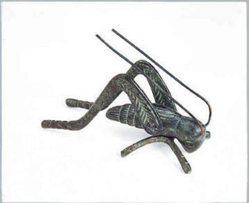 ACHLA DESIGNS - Hearth Cricket Figurine Verdigris (ACHLAHCRK01V) 719908308797