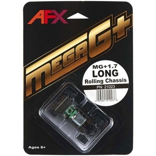AFX - (Ho Racing) HO Scale Mega G+ Slot Car Rolling Chassis - Long (21023) 053941210236