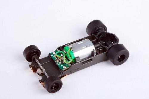 AFX - (Ho Racing) HO Scale Mega G+ Slot Car Rolling Chassis - Short (21029) 053941210298