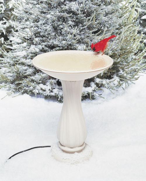 ALLIED PRECISION - Bird Bath Bowl and Pedestal - Electric Heated (ALLIEDPR670) 022102670127