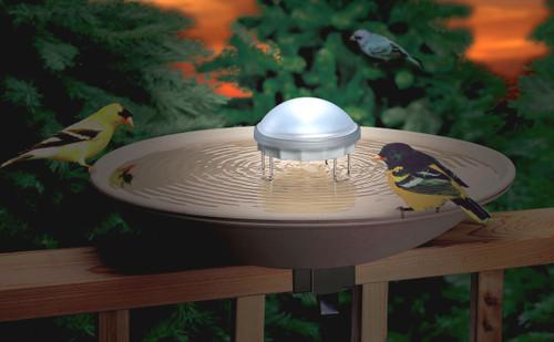 ALLIED PRECISION - Aurora Lighted Water Wiggler (wave maker for Bird Baths) (ALLIEDPR7WW) 022102071108
