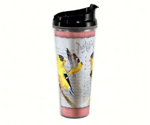 AMERICAN EXPEDITION - Goldfinch Postcard - Tall Tumbler 24 oz (AMETB24243) 659356045328