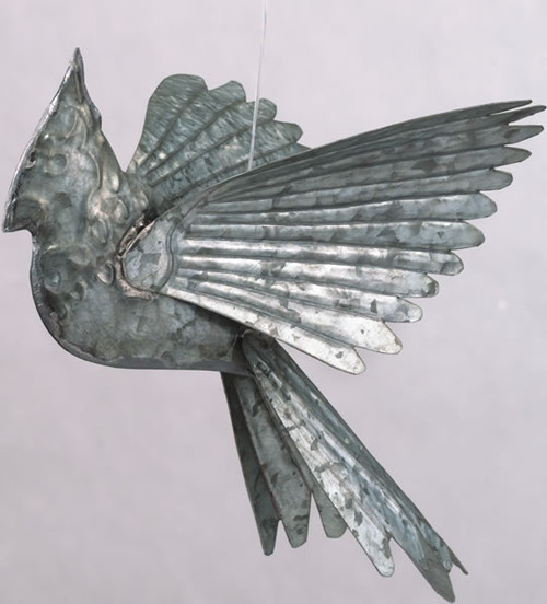 ANCIENT GRAFFITI - Cardinals - Hanging Metal Figurine - Galvanized (ANCIENT60325) 638071603259
