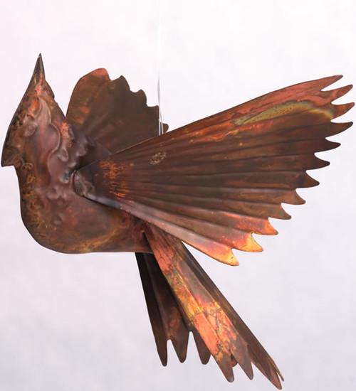ANCIENT GRAFFITI - Cardinals - Hanging Metal Figurine - Flamed (ANCIENT60327) 638071603273