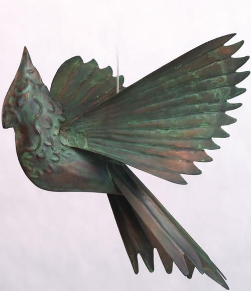 ANCIENT GRAFFITI - Cardinals - Hanging Metal Figurine - Verdigris (ANCIENT60329) 638071603297