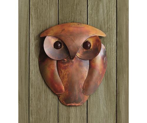 ANCIENT GRAFFITI - Solid Flamed Owl Wall Decor (ANCIENTAG83303) 638071786150